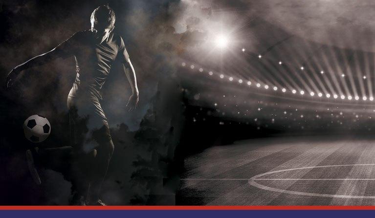 foto di un campo di calcio e un calciatore, per simboleggiare impegno della Sestese nel promuovere il calcio